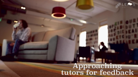 Thumbnail for entry Feedback: Tutors