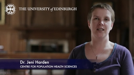 Thumbnail for entry Jeni Harden -Centre for Population Health Sciences-Research In A Nutshell- MRC Institute of Genetic and Molecular Medicine-18/05/2012
