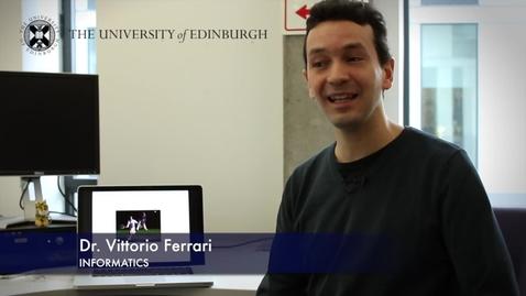 Thumbnail for entry Vittorio Ferrari - Informatics - Research In A Nutshell - School of Informatics -19/03/2013