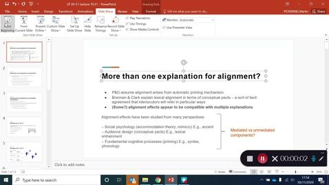 Thumbnail for entry Language Production Lecture 10 Part 31