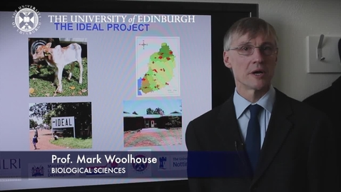 Thumbnail for entry Mark Woolhouse - Biological Sciences- Research In A Nutshell - School of Biological Sciences -27/06/2012