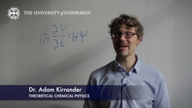 Thumbnail for entry Adam Kirrander -Theoretical Chemical Physics- Research In A Nutshell -  School of Chemistry -18/04/2013