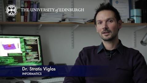 Thumbnail for entry Stratis Viglas - Informatics - Research In A Nutshell - School of Informatics -15/11/2012