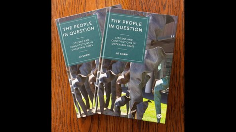 Thumbnail for entry Book Launch: The People in Question (Jo Shaw)