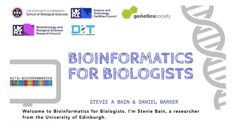 Thumbnail for entry Bioinformatics: The Power of Computers in Biology
