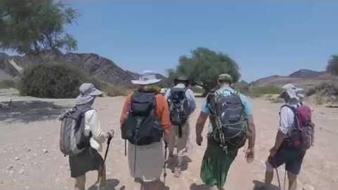 Thumbnail for entry Kalahari Trek for the Euan MacDonald Centre