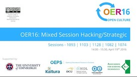 Thumbnail for entry OER16 afternoon parallel from Pentland West  (Hacking/Strategic)
