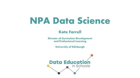 Thumbnail for entry An introduction to the NPA Data Science