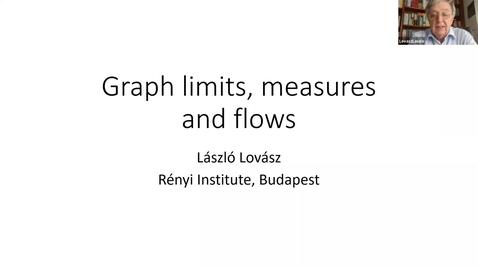 Thumbnail for entry Warwick Combinatorics - László Lovász (Budapest)