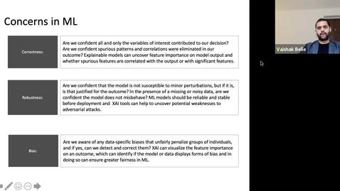 Thumbnail for entry XAI Lecture Recording - Preface to XAI (Part 3)