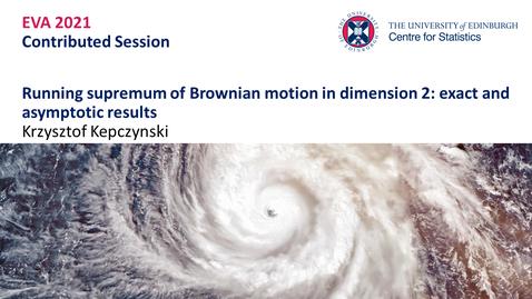 Thumbnail for entry Krzysztof Kepczynski EVA Talk Preview