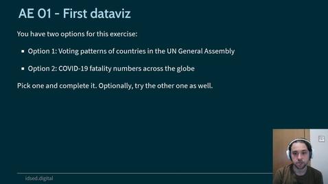 Thumbnail for entry IDS - Week 01 - 02 - AE: First dataviz (2021)