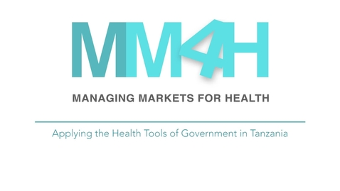 Thumbnail for entry Applying the Health Tools of Government in Tanzania
