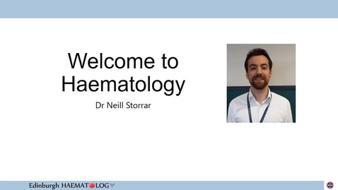 Thumbnail for entry Haematology Module Introduction 2020