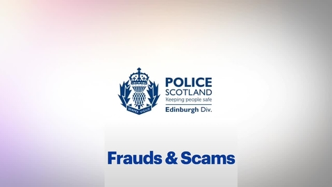 Thumbnail for entry Student Safety - Frauds & Scams