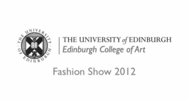 Thumbnail for entry Studying in Edinburgh - Fashion Show