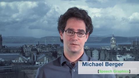 Thumbnail for entry Speech Graphics Michael Berger