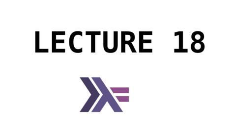 Thumbnail for entry FP - Lecture 18 - IO and Monads