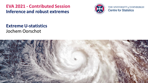 Thumbnail for entry Inference and robust extremes: Jochem Oorschot