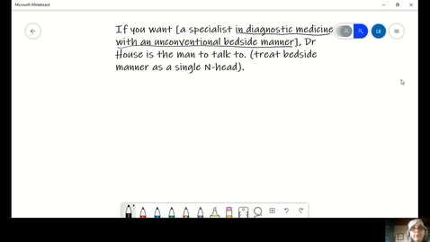 Thumbnail for entry Homework Week 9 walkthrough - a specialist in diagnostic medicine