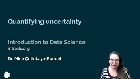 Thumbnail for entry IDS - Week 10 - 05 - Quantifying uncertainty