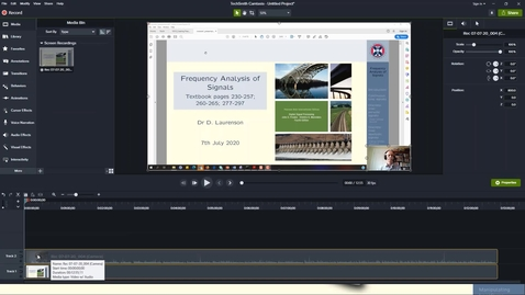 Thumbnail for entry Trim a Presentation and Prepare for MHC using Camtasia
