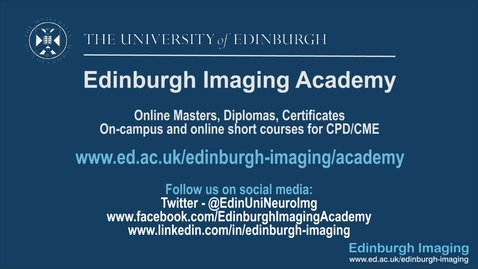 Thumbnail for entry Alison, Neuroimaging for Research online student.