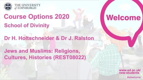 Thumbnail for entry Divinity - Jews and Muslims: Religions, Cultures, Histories