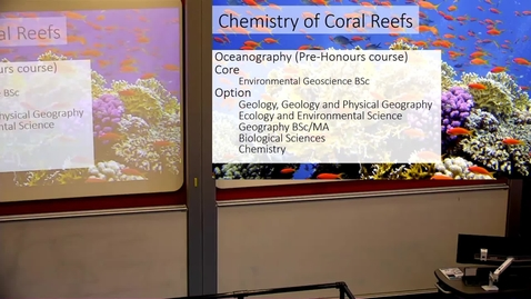 Thumbnail for entry Corals Chemistry and Climate Change