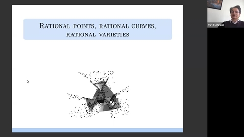 Thumbnail for entry 19 November Yuri Tschinkel Rational points, rational curves, and rational varieties Maxwell Institute Whittaker Lecture