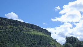 Thumbnail for entry Timelapse of clouds over Arthur's Seat - Clipped by Lauren Johnston-Smith