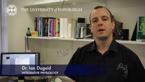 Thumbnail for entry Ian Duguid- Integrative Physiology - Research In A Nutshell- Edinburgh Neuroscience-05/03/2013