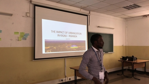 Thumbnail for entry The Impact of Urbanisation - Global Health Academy Summer School, Rwanda 2019