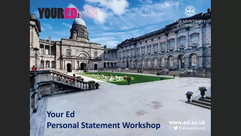 Thumbnail for entry Personal Statement 2021-22