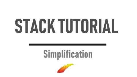 Thumbnail for entry Simplification  - STACK Tutorial
