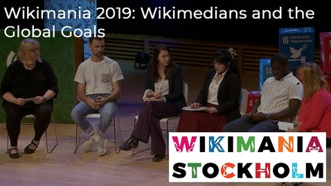 Thumbnail for entry Wikimedians and the Global Goals