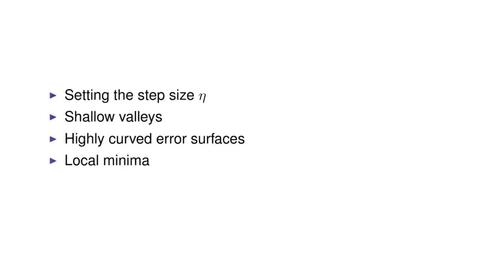 Thumbnail for entry Gradient Descent Problems