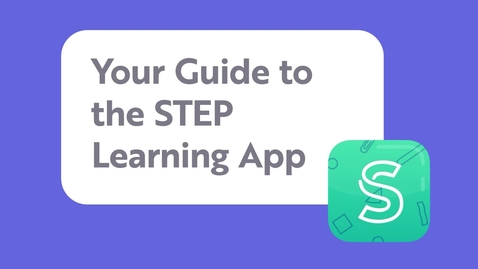 Thumbnail for entry STEP Digital Families Learning App: A guide for learners