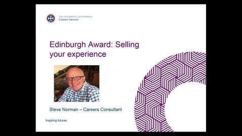 Thumbnail for entry Edinburgh Award Session 3