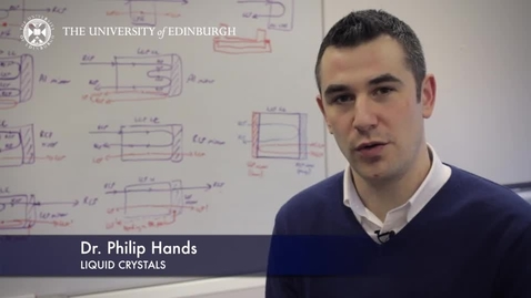 Thumbnail for entry Philip Hands: Liquid crystal lasers