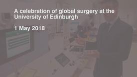 Thumbnail for entry Global surgery event: laparoscopic simulator