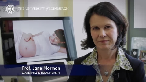 Thumbnail for entry Jane Norman - Maternal and Fetal Health - Research In A Nutshell - Queen's Medical Research Institute -17/04/2014