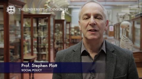 Thumbnail for entry Stephen Platt -Social Policy-Research In A Nutshell- MRC Institute of Genetic and Molecular Medicine-04/03/2013
