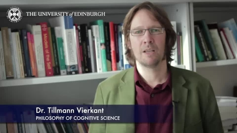 Thumbnail for entry Tillman Yierkant-Philosophy of Cognitive Science-Research In A Nutshell- School of Philosophy, Psychology and Language Sciences-15/04/2014