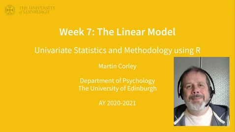 Thumbnail for entry USMR lecture 6 part 1