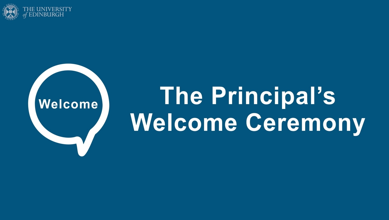 The Principal's Welcome Ceremony