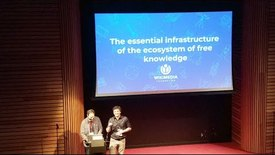 Thumbnail for entry Wikicite 2018 - Keynote: Wikimedia as the essential infrastructure of the ecosystem of free knowledge