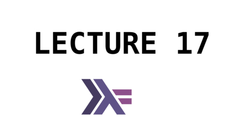 Thumbnail for entry FP - Lecture 17 - IO and Monads