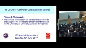 "Thumbnail for entry CVS Symposium, Tuesday 20th July 2017, Keynote lecture: Valentin Fuster, MD, PhD ""Evolving Scientific Approaches to the Promotion of Cardiovascular Health"""