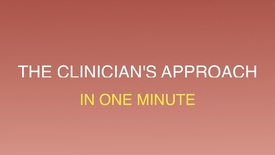 Thumbnail for entry The clinicians approach to skin cancer in one minute